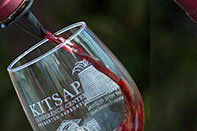 kitsap red wine pour